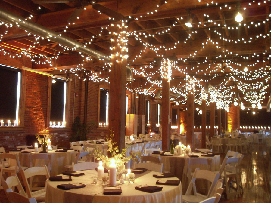 lights wedding action